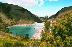 Cuatro reservorios de agua