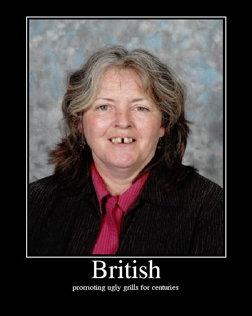 British girls makeup ugly british girls