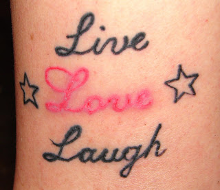 Live Laugh Love Wrist Tattoos on Tattoo Picture  Cursive Letter Ankle Tattoo Picture