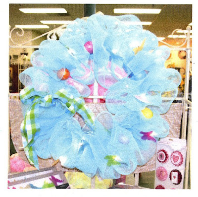 Geo Mesh Wreath Ideas http://hannahshomeaccents.blogspot.com/2010/03/have-you-heard-of-geo-mesh.html
