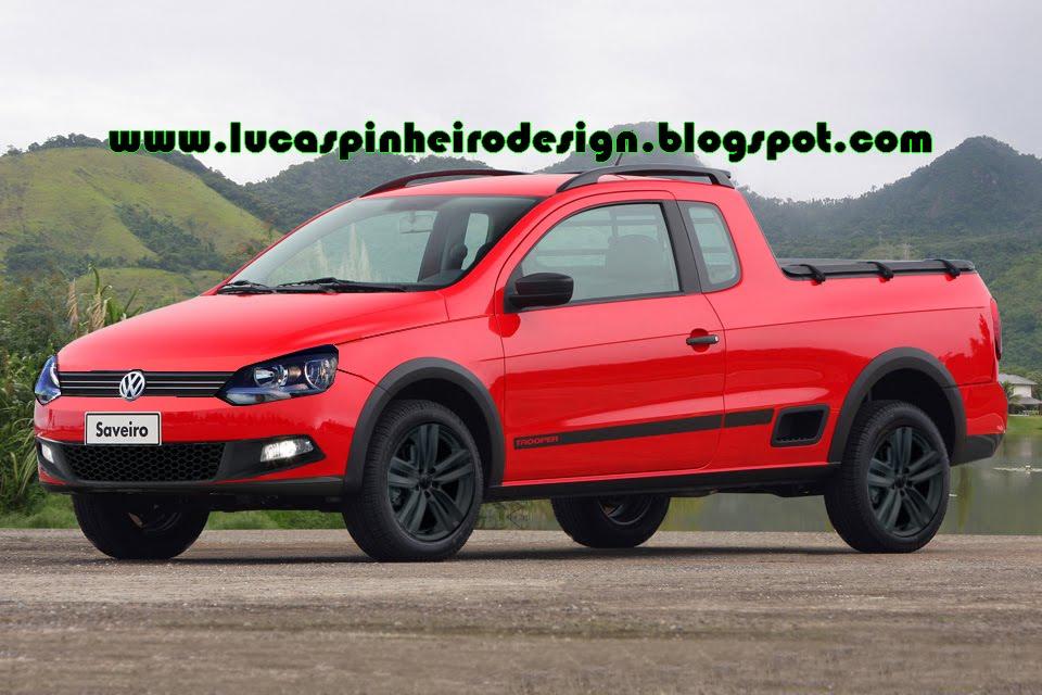 Lucas Pinheiro Design: Volkswagen Saveiro G6