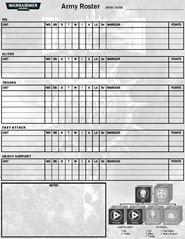 warhammer 40k rulebook pdf 8th edition army lists