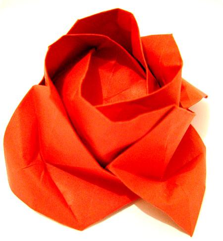 papiroflexia rosa