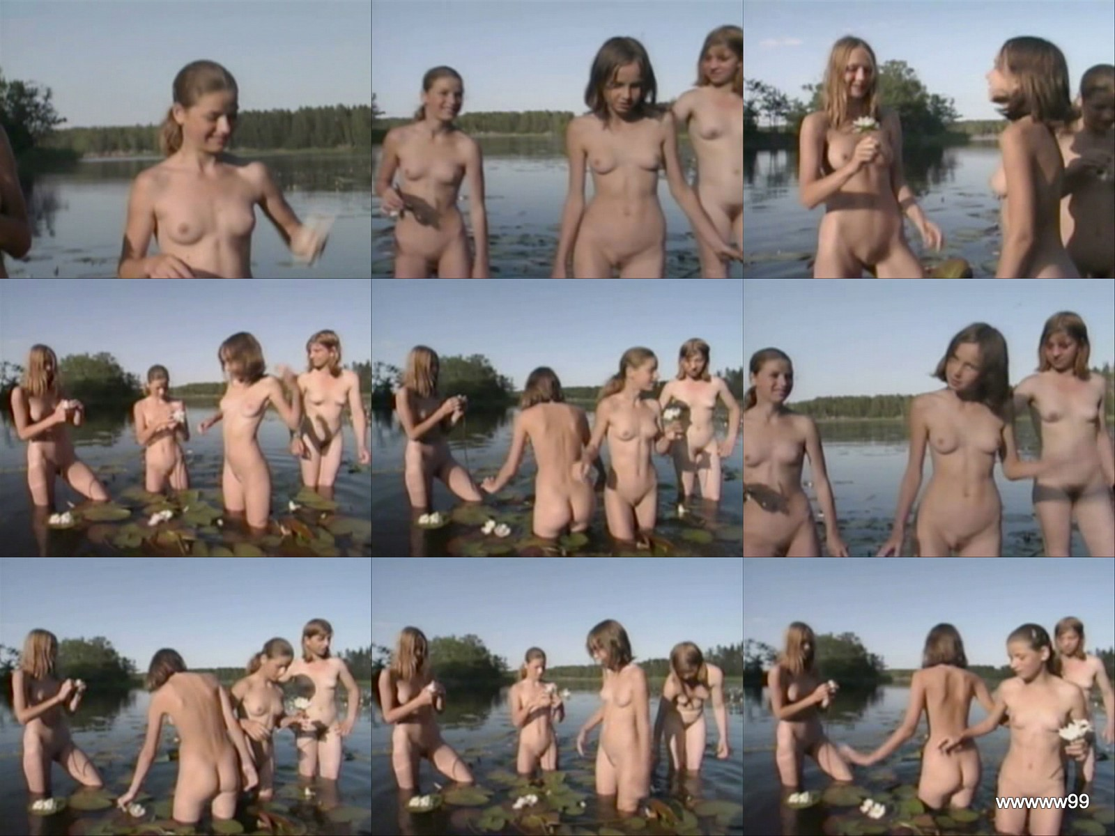 See some free nudist clips