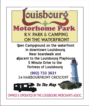 Louisbourg Motor Home Park Campground And RV On Waterfront