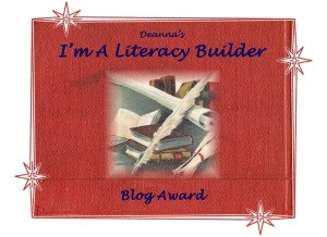 I&#39;M A  LITERACY BULDER AWARD