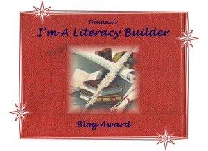 I'M A  LITERACY BULDER AWARD