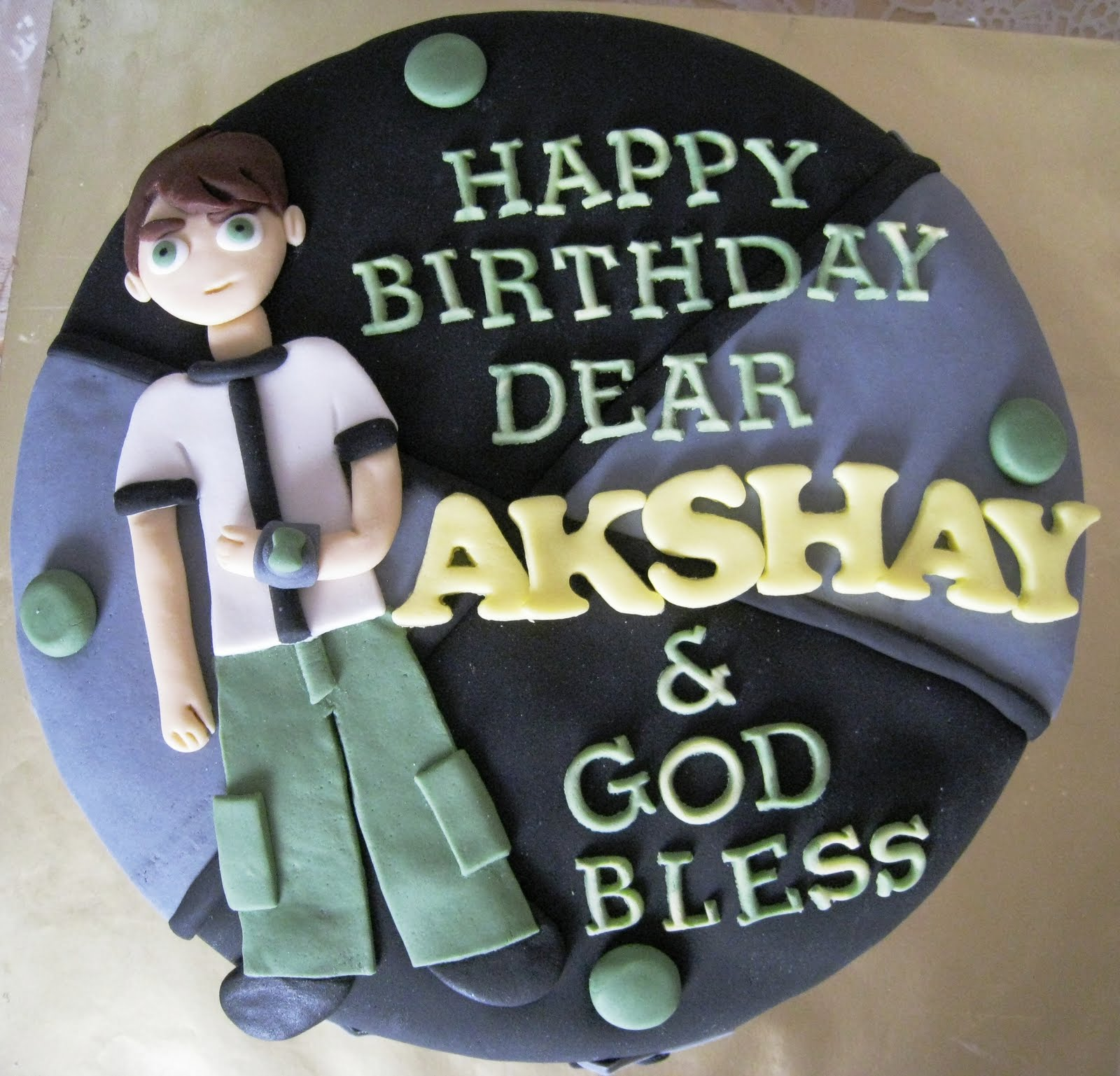Cake Images With Name Akshay : H2 Bites!: More exciting cakes!