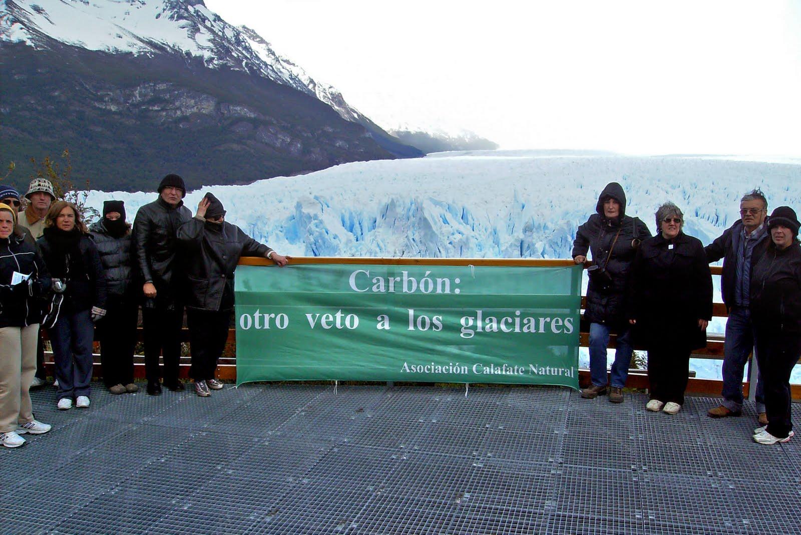 ambientalistas en Calafate