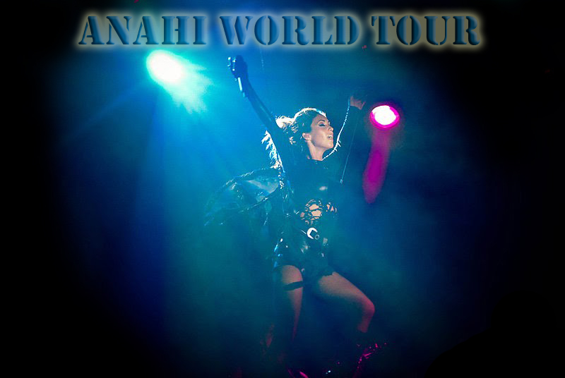 Anahi World Tour