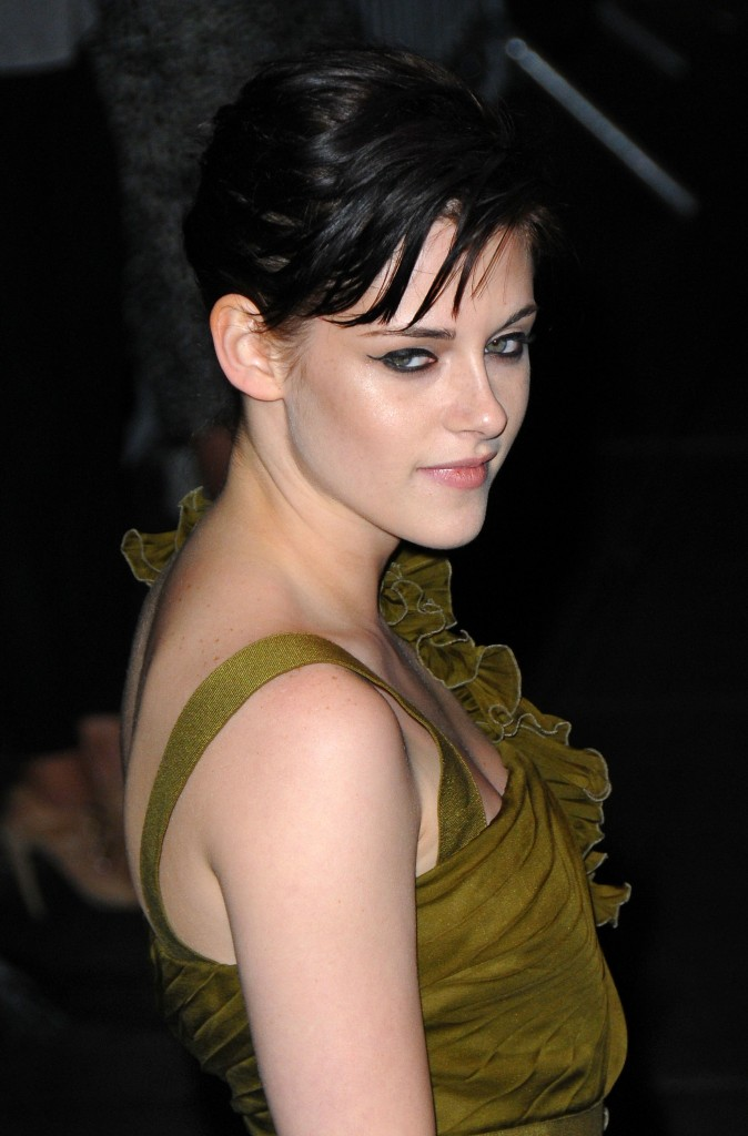 kristen stewart hair color