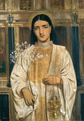 Pre Raphaelite Art: Simeon Solomon - A Saint of the Eastern Church ...