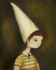 oh, oliver dunce. that hat looks quite well-worn to me!