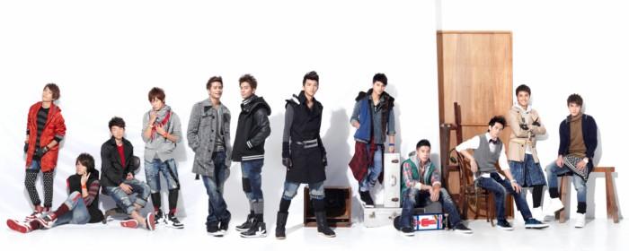 Alien Huang forms new 12-member group Playboyz 20101126_playboyz