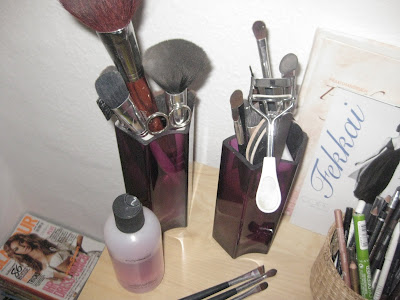Beautyaddicted meine make up aufbewahrung for Dekosand ikea