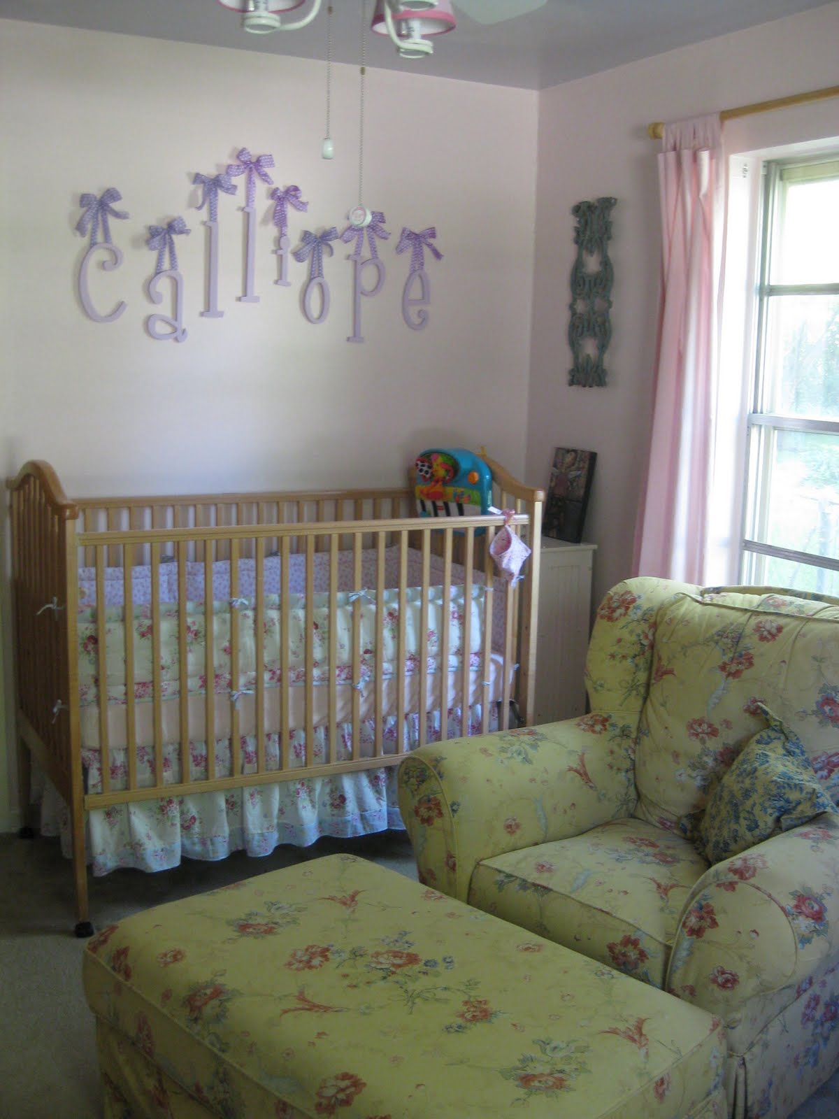 this present life shabby chic nursery. Black Bedroom Furniture Sets. Home Design Ideas