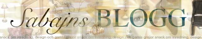 Sabajns blogg