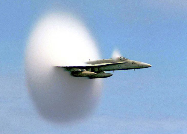 Breaking The Sound Barrier - Sonic Boom