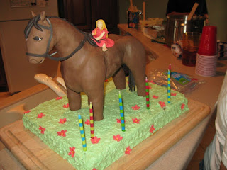 TJ Happy Cakes The Chocolate Horse