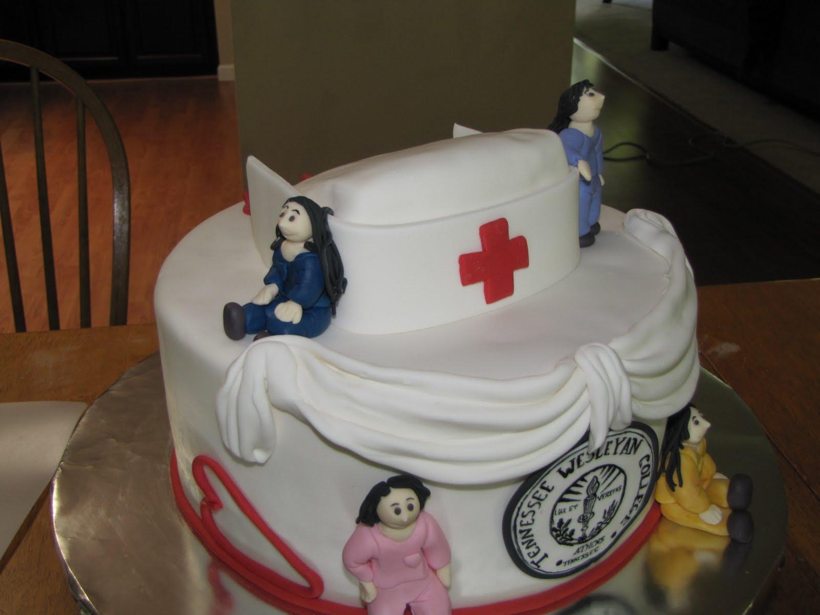 TJ Happy Cakes Nursing school Graduation