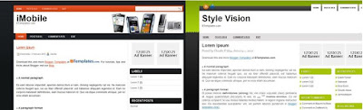 iMobile y Style Vision nuevas Plantillas para blogger 3