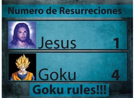 Goku vs Jesus 3