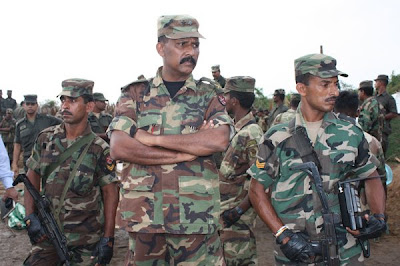 Maj. Gen. Kamal Gunaratne Commander of the 53 Division that killed the LTTE leader