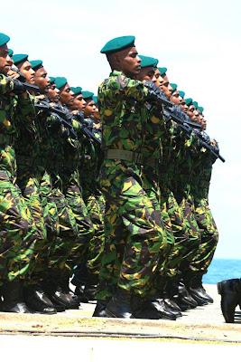 srilanka army parade