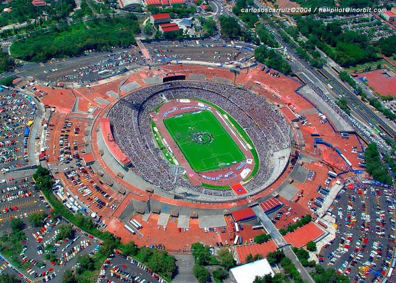 Copas del mundo en america estadios y sedes for Puerta 6a estadio universitario