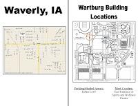 Wartburg College Campus Map.Wartburg College Football