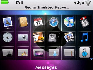 DreaMac 8530 App Screen DreaMac BlackBerry Curve 8520/8530 Themes (OS 4.6 and 5.0)