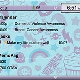 Zombie Girl Cute Institute BlackBerry Themes 2 RED Precision Zen themes for BB 81xx,83xx,88xx