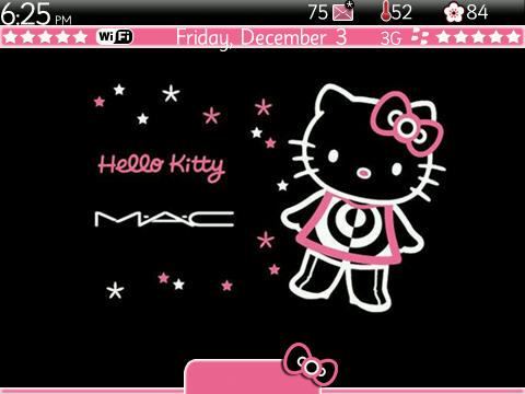 9700 Themes - DMac Kitty BlackBerry Themes