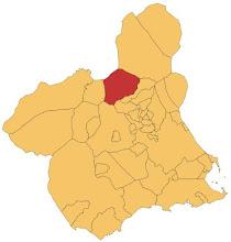 Ubicación en la Región de Murcia