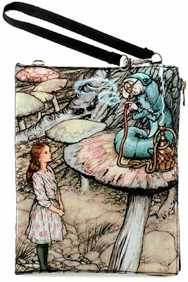 Alice in Wonderland Caterpillar wristlet