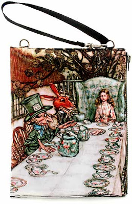 Alice in Wonderland Teaparty wristlet