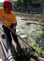 IAS Menggalakkan Makassar BErsih