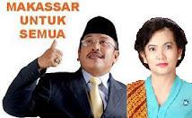 Ir. H. Ilham Arief Sirajuddin, MM Bersama Ny. Aliyah Mustika, SE