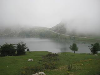 El lago Enol