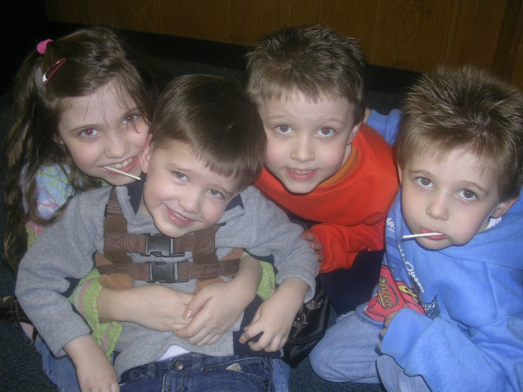 My Lollipop Gang - Becca, Spencer, Braden, and Conner