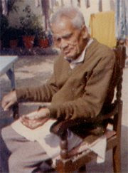 J P Srivastava - at home