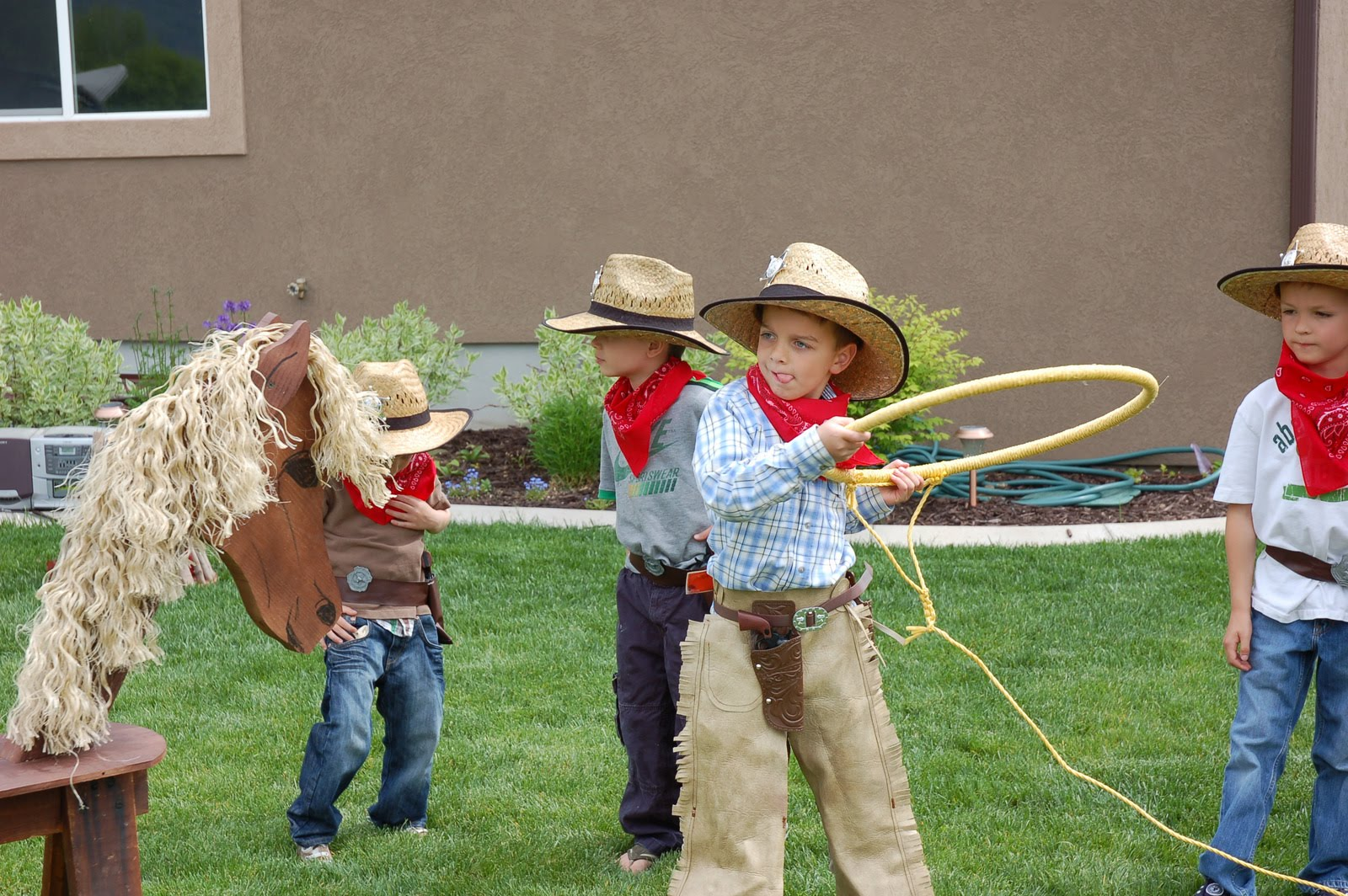 adult cowboy party games