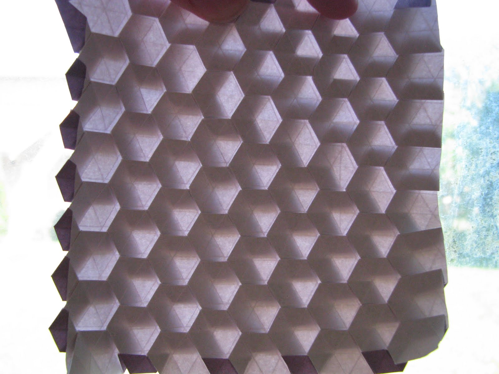 hexagon tessellation template