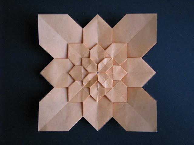 Shuzo Fujimoto Ornage 5-layer Hydrangea Tessellation