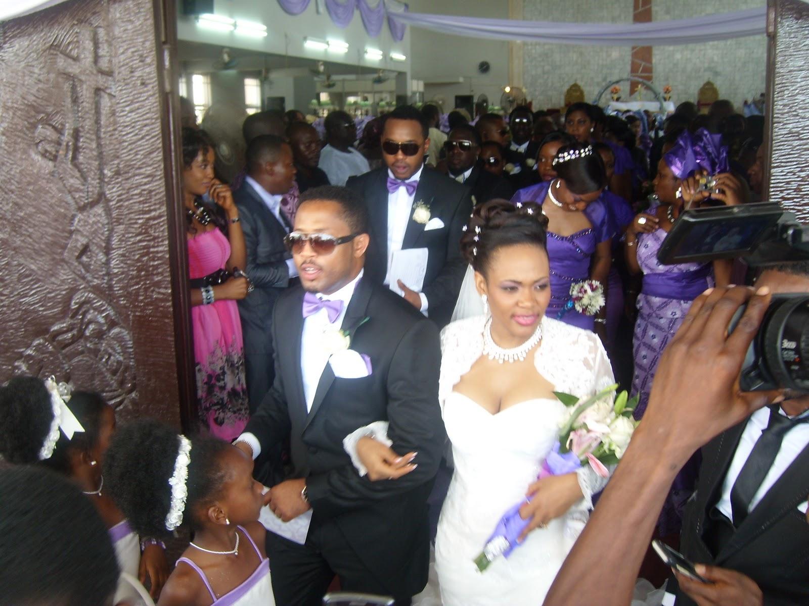 Mike ezuronye wedding
