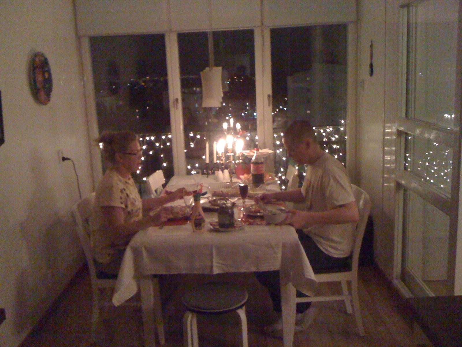 middag första gången eskort umgänge