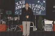 XXIII FIESTA LA BIZNAGA. PREGONERO AÑO 1997