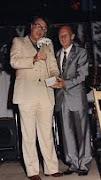 XXXIII FIESTA LA BIZNAGA. PREGONERO AÑO 1987