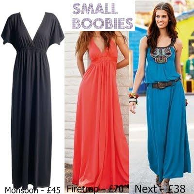 maxi dress different styles pf