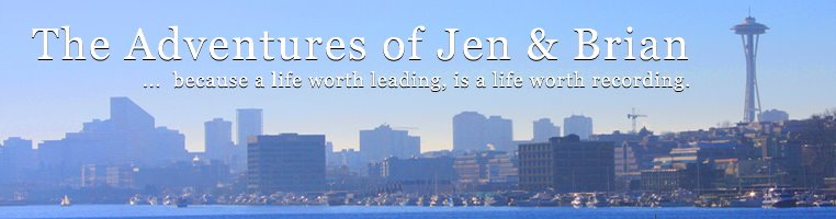 the adventures of jen & brian